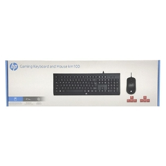 KIT GAMER TECLADO E MOUSE - HP KM100 na internet