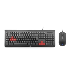 KIT GAMER TECLADO E MOUSE - HP KM100