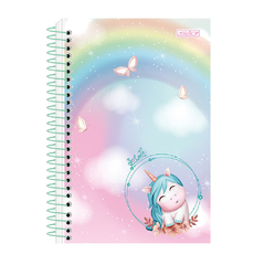 CADERNO 1X1 CD 80F SO CUTE - SÃO DOMINGOS