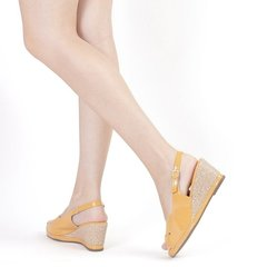 Sandalia Piccadilly amarillo azafran Mod. 408150-5 - EZ Shoes