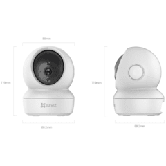 CAMERA EZVIZ SMART IP C6N 1080P na internet