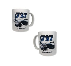 Taza 737 Logo Avion