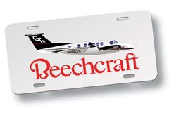 Chapa Patente Beechcraft