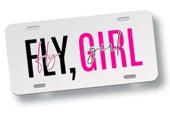 Chapa Patente Fly Girl