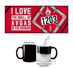 Taza I LOVE THE SMELL GAS 1203 - comprar online