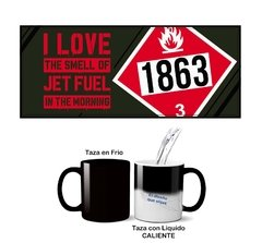 Taza I LOVE THE SMELL GAS 1863