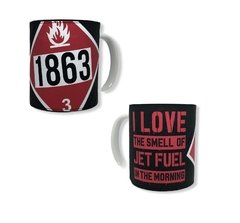 Taza I LOVE THE SMELL GAS 1863 - comprar online