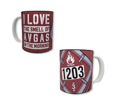 Taza I LOVE THE SMELL GAS 1203