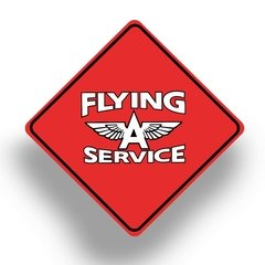 Chapa Cuadrada Service Flying