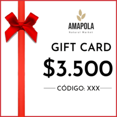 GIFT CARD ONLINE $3.500