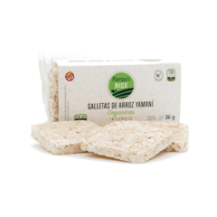 Galletas de arroz yamani integral Organicas 36g