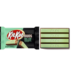 24 Chocolate Kit Kat Duos Mint + Dark Chocolate Importado - comprar online
