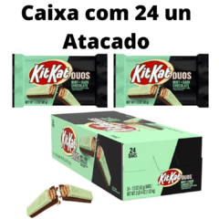 24 Chocolate Kit Kat Duos Mint + Dark Chocolate Importado