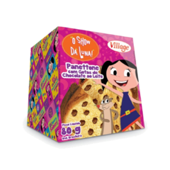 Mini Panetone Luna Gotas De Chocolate 80g Village