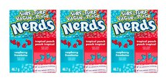 3 Cx Bala Nerds  Wonka Raspeberry/tropical Punch Importada - comprar online