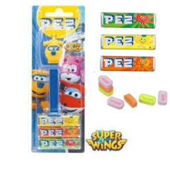 Pez Super Wings Donnie Dispenser + 3 Pastilhas Bala - comprar online