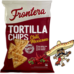 Kit Molho Tex Mex Frontera + Tortilha Chips Chili Mexicano na internet