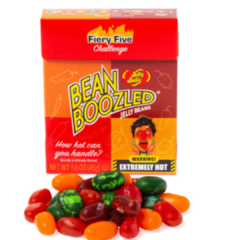 Feijoes Apimentados Jelly Belly Fire Five Top Desafio-cx 45g na internet