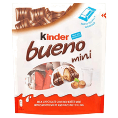 Chocolate Kinder Mini Bueno Importado Alemanha 108g
