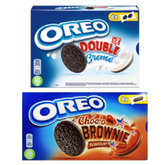 Kit Biscoito Oreo Choco Brownie E Double Creme Exclusivos