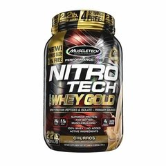 NITROTECH 100% WHEY GOLD (999G) - MUSCLETECH na internet