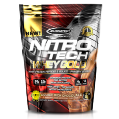 NITRO TECH 100% WHEY GOLD (454G)