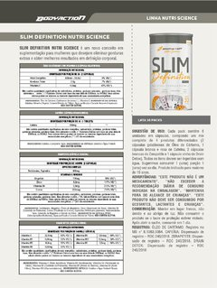 SLIM DEFINITION 30 PACKS NUTRI SCIENCE - comprar online