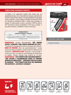 Creatine 20 days Authonomy 70g - comprar online