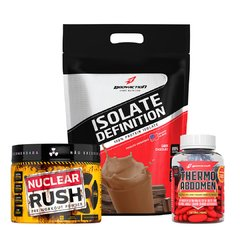 Kit Isolate Definition 1,8kg - Thermo Abdomen - Nuclear Rush - comprar online