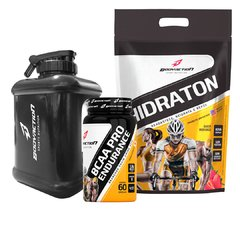 Kit Endurance Hidraton 1kg + Bcaa Pro + Galão Gym Designed Brinde - Bodyaction