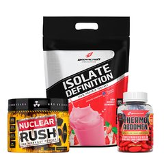 Kit Isolate Definition 1,8kg - Thermo Abdomen - Nuclear Rush na internet