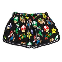 Short Praia Feminino Use Praieiro Mario World