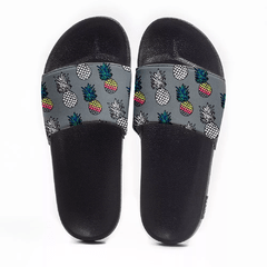 Chinelo Slide Praia Use Praieiro Abacaxi Colors - comprar online
