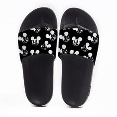 Chinelo Slide Praia Use Praieiro Mickey Black - comprar online