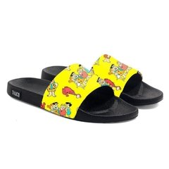 Chinelo Slide Praia Use Praieiro Flingstons