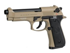 Pistola De Airsoft GBB M92 ICS Tan na internet
