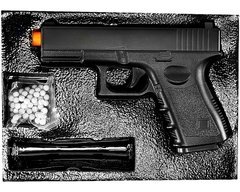 Pistola Airsoft Spring Glock G15 Full Metal 6mm Galaxy - Loja De Airsoft: Patriotas Airsoft