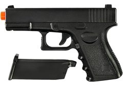 Pistola Airsoft Spring Glock G15 Full Metal 6mm Galaxy na internet