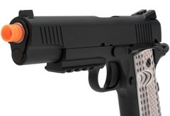 Imagem do Pistola De Airsoft 1911 M45A1 WE GBB 6mm - Preto