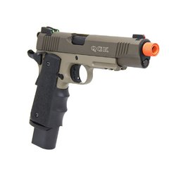 Pistola De Airsoft 1911 Gbb R32 Tan Army Armament - Loja De Airsoft: Patriotas Airsoft