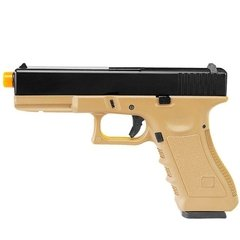 Pistola De Airsoft Glock Gbb R17 Tan Army Armament