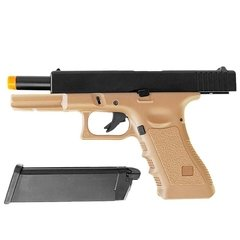 Pistola De Airsoft Glock Gbb R17 Tan Army Armament na internet