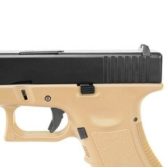 Imagem do Pistola De Airsoft Glock Gbb R17 Tan Army Armament