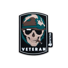 Patch Invictus Caveira Cool Veteran