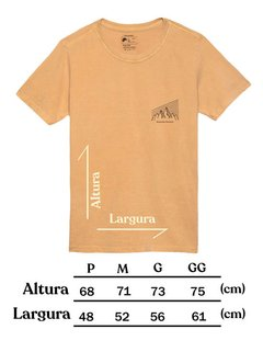 Tamanho Camiseta Masculina Mountain Lifestyle - Up The Mountain