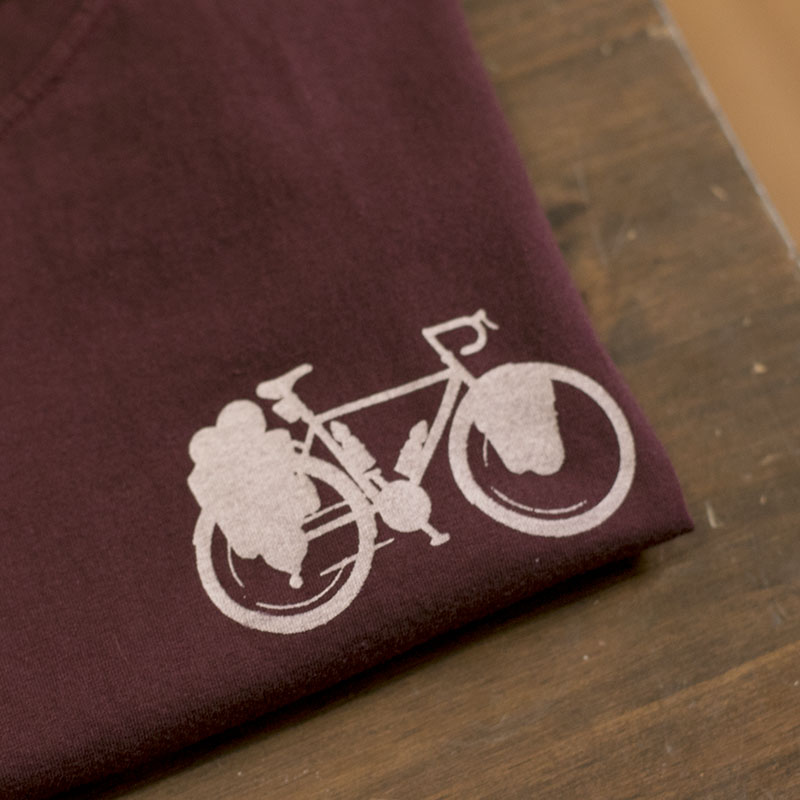 "Camiseta Bike - ""Up The Mountain"""