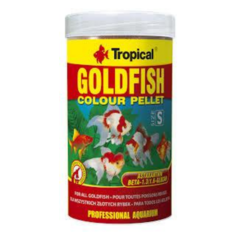 goldfish color pellet 45 gr