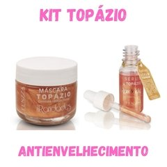 Kit Antienvelhecimento - Topázio Máscara Facial + Sérum
