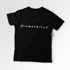 Camiseta DiabetStyle - Friends na internet