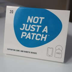 Not Just a Patch - Azul - comprar online